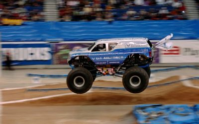 Round Six of the European Monster Truck Racing Championship